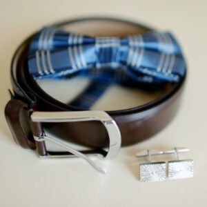 Bow Tie Belt Cufflinks