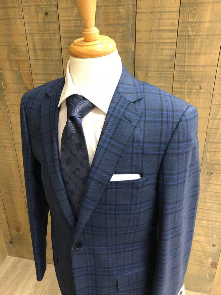 Tartan suit on a mannequin