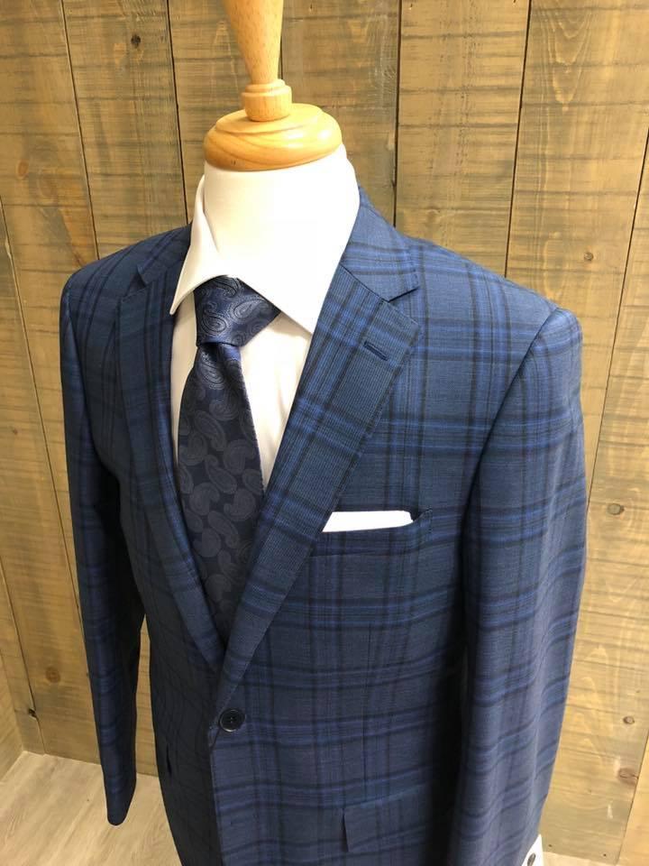 Tartan suit on a mannequin